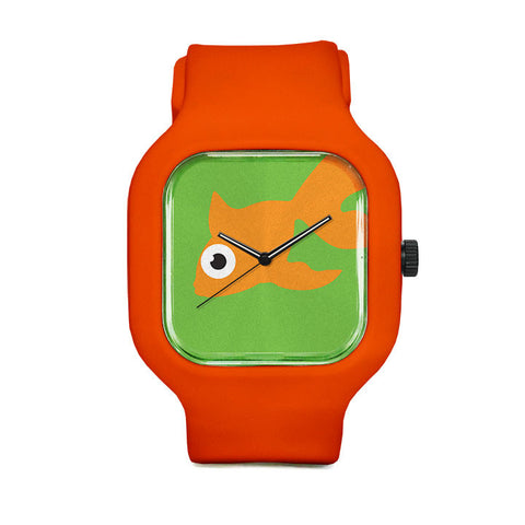 Green Goldfish Sport Watch