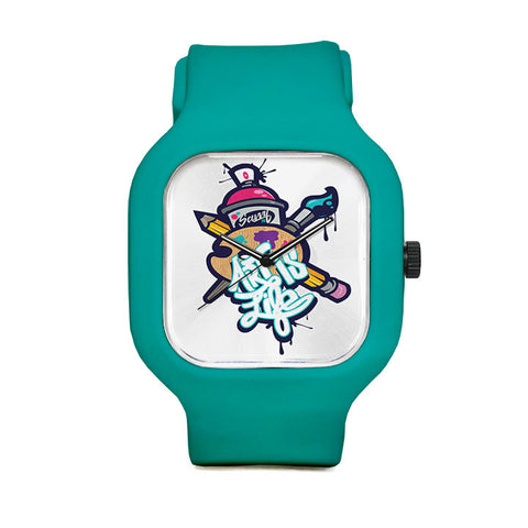 Savvy Kid Art is Life Sport Watch