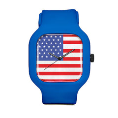 US Flag Sport Watch