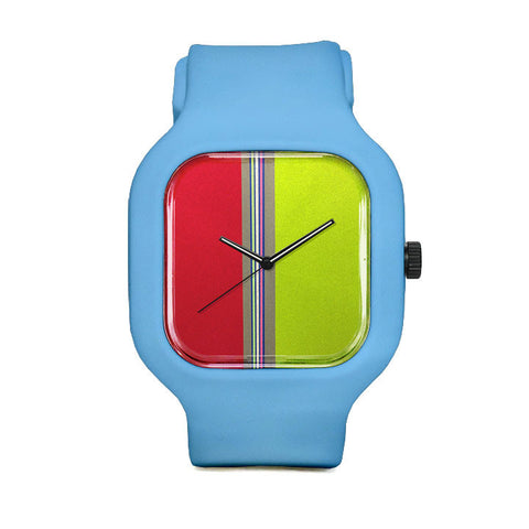 Striped Sport Watch