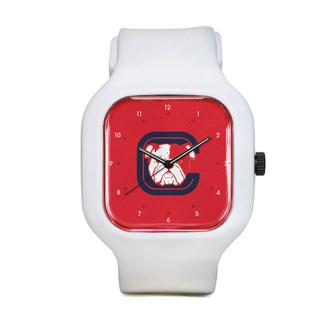 Cleveland Elementary PTA Red Numbers Sport Watch