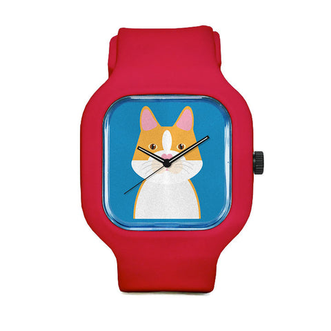 Yellow Cat Sport Watch