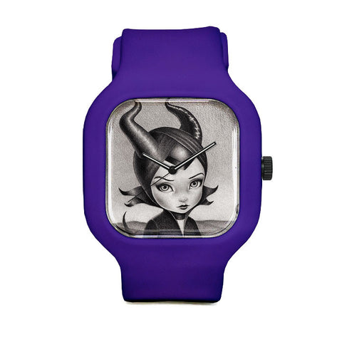 Lullaby Maleficent Sport Watch