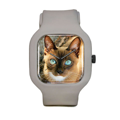 Brown Kitten Sport Watch