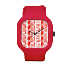 Chinese Print Sport Watch