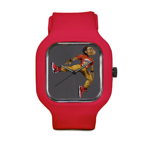FikShun Toe Tilt Sport Watch