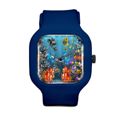 Aquarium Style Sport Watch