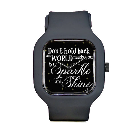 Sparkle and Shine Sport Watch