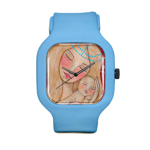 Mother and Child Sport Watch