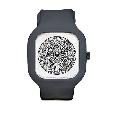 Rose Window Sport Watch