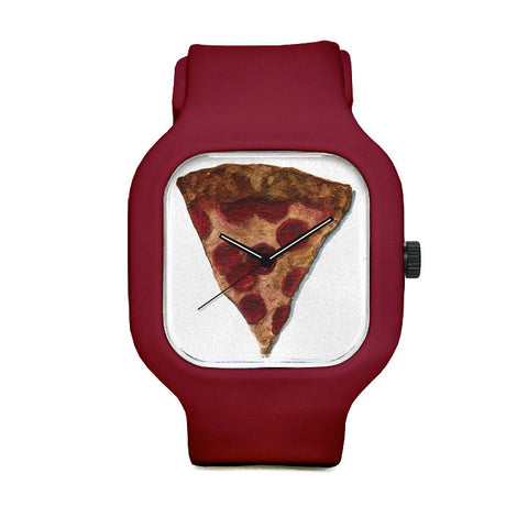 Pepperoni Pizza Sport Watch