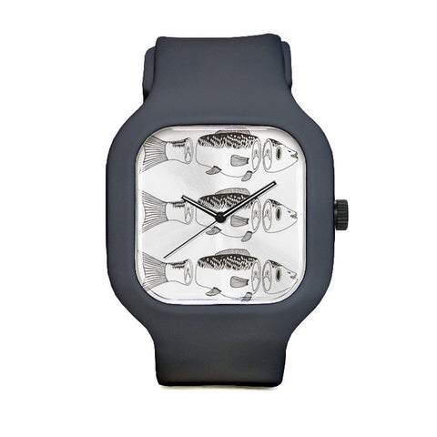 Chopped Fish Sport Watch