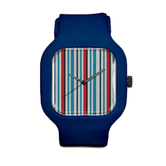 Nautical Stripes Sport Watch
