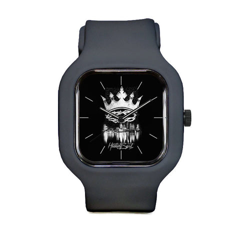 Black Crown Sport Watch