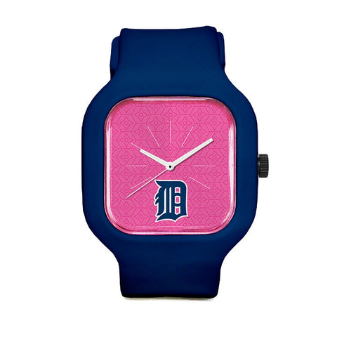 Pink Detroit Tigers Sport Watch