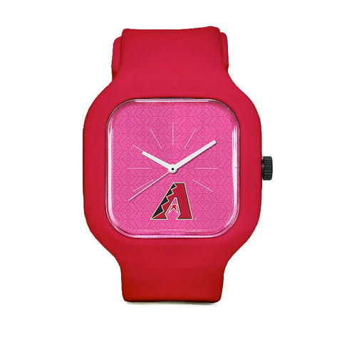 Pink Arizona Diamondbacks Sport Watch