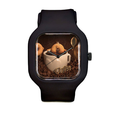 Coffee Sport Watch
