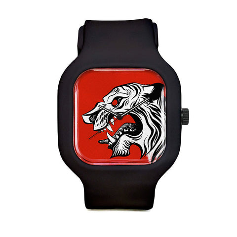 White Tiger Sport Watch
