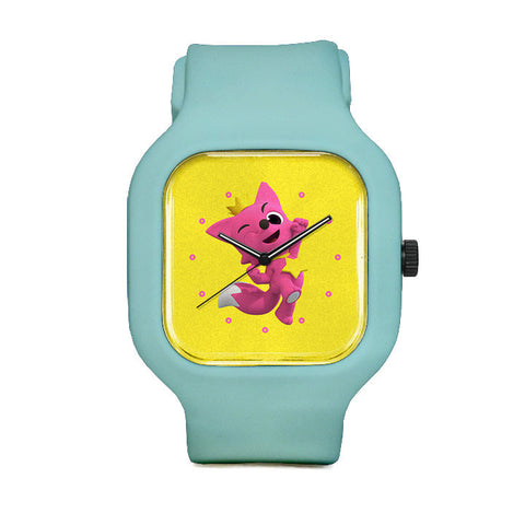 Jumping Pinkfong Sport Watch