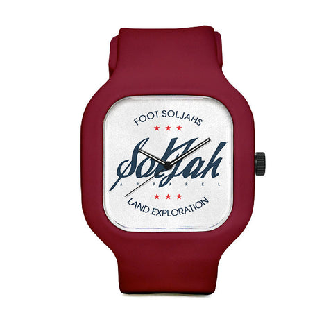 Foot SolJahs Sport Watch