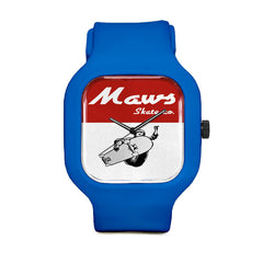 Maws Bold Red Sport Watch