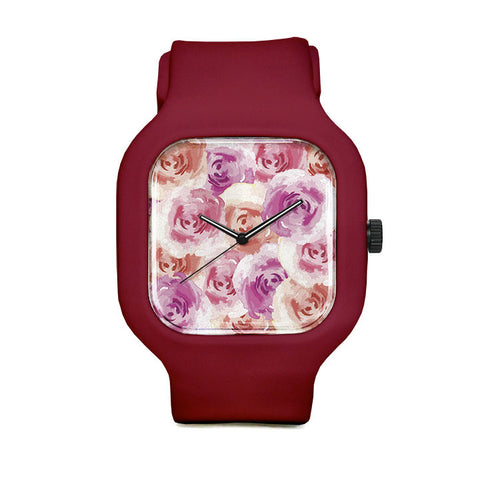 Smell the Roses Sport Watch