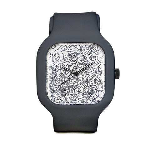 Scribbles Sport Watch