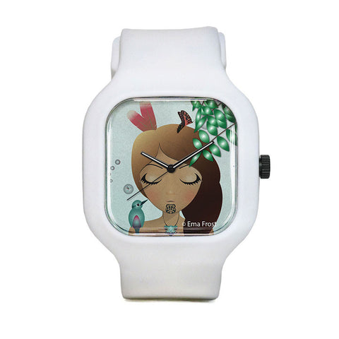 Sleeping KotareHine Sport Watch