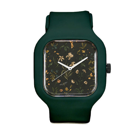 Old World Florals Sport Watch