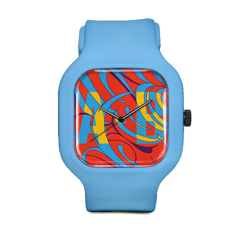 Color Camouflage Sport Watch