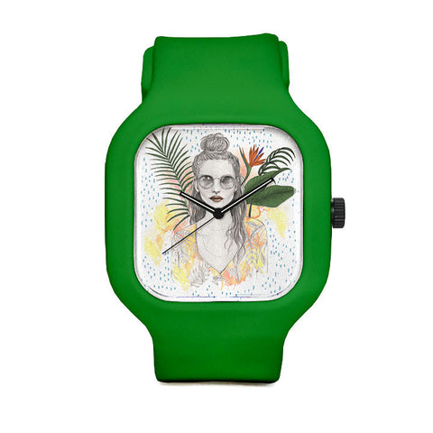 Tropical Raining Sport Watch
