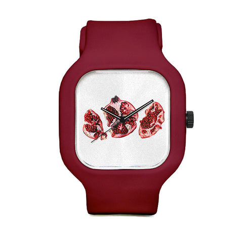 Pomegranate Sport Watch