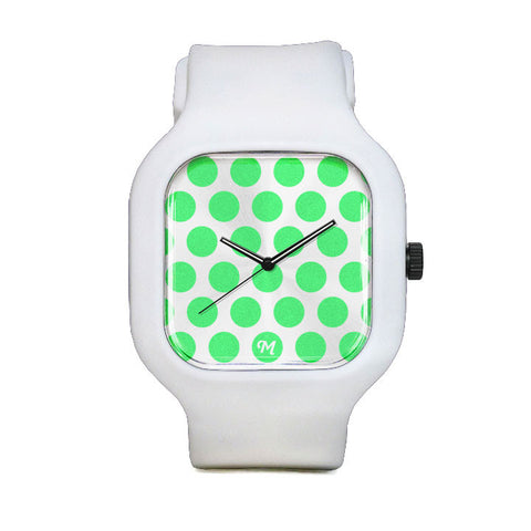 GITD Polka Dot Sport Watch