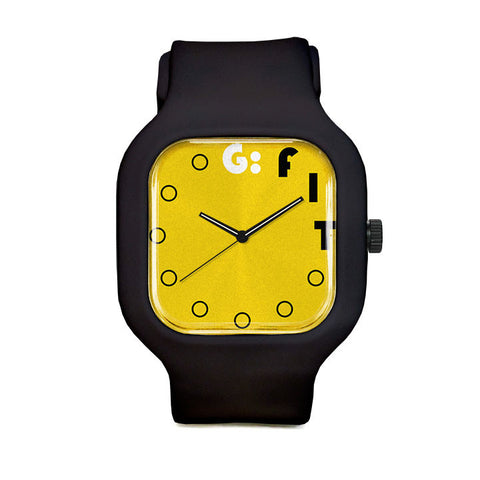Fiverr Yellow Sport Watch