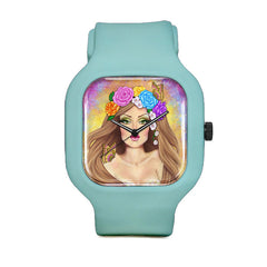 Lady Butterfly Sport Watch