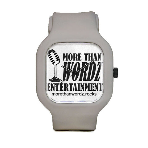 More Than Wordz.Rock Sport Watch
