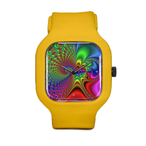 Rainbow Drain Sport Watch