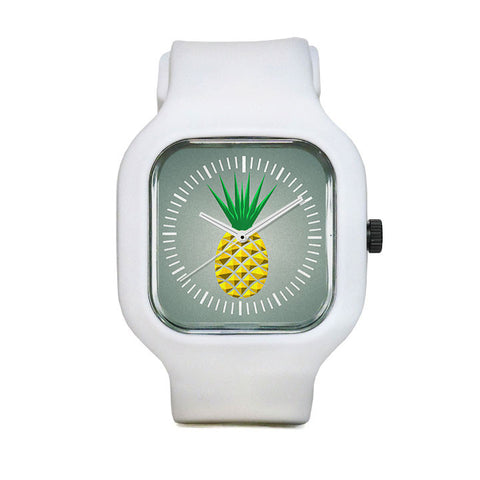 Modern Geometric Pineapple Sport Watch