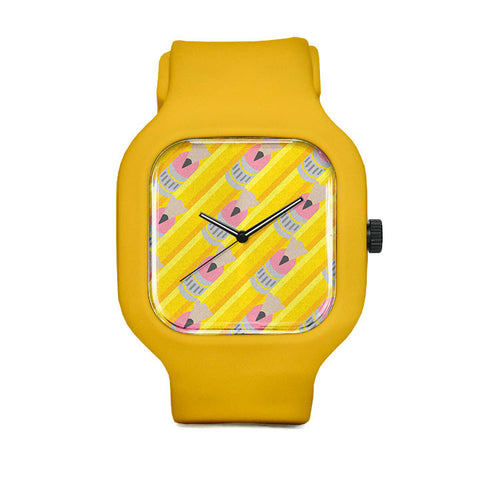 Brandon Ortwein Pencil Pattern Sport Watch