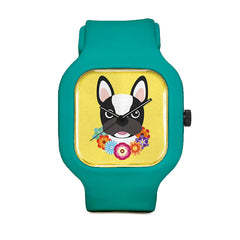 French Bulldog Sport Watch