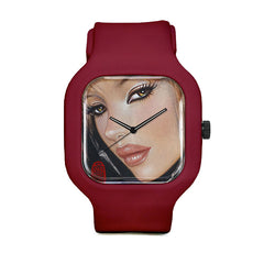 Mimi Yoon Red Sport Watch