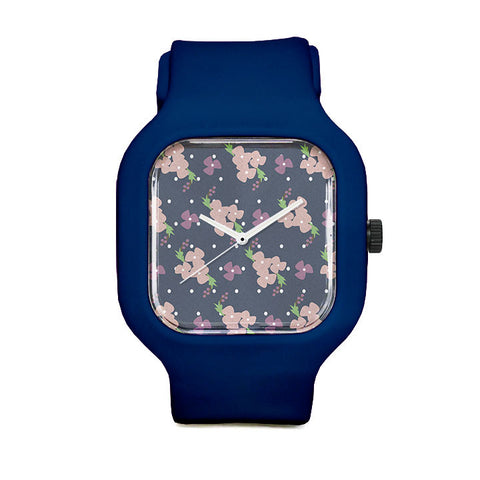 Desiree Floral Sport Watch