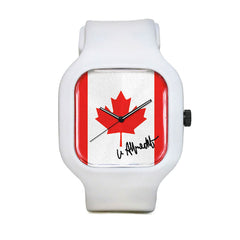 Canadian Flag Sport Watch