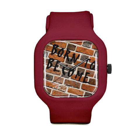 Marie Brick Sport Watch