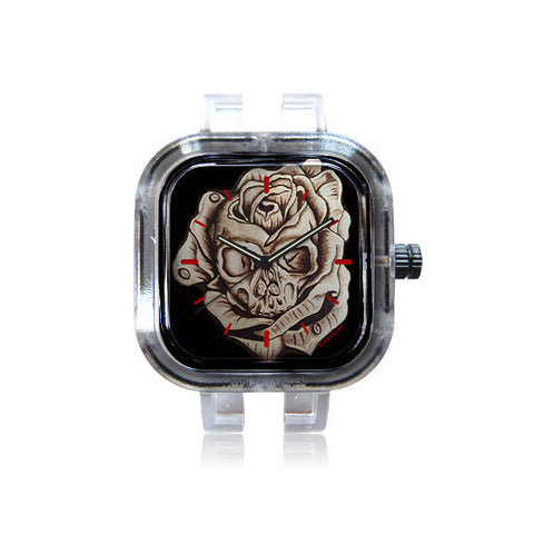 Timberlee SkullRose watch