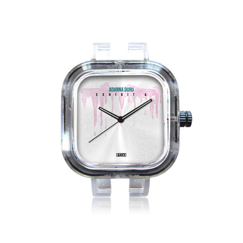 Transparent White Watch