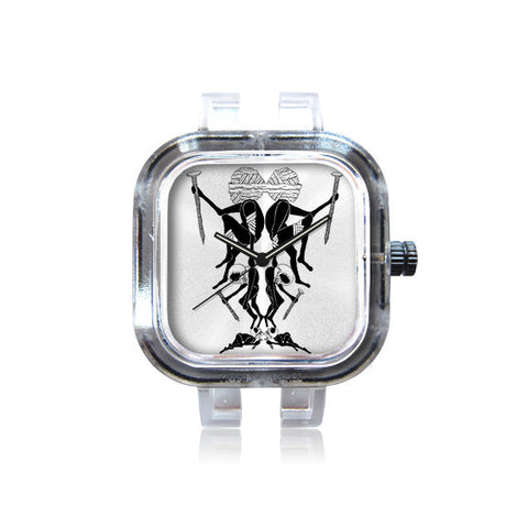 arthurdoomer mirrored watch