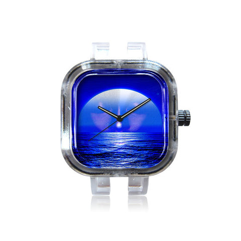 AswadART Blue Moon Watch