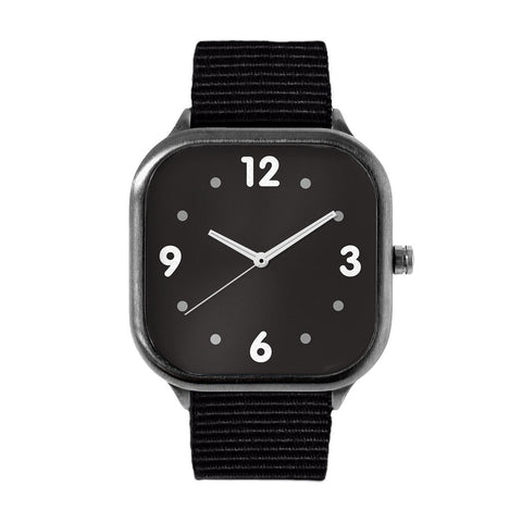Basic Black Alloy watch