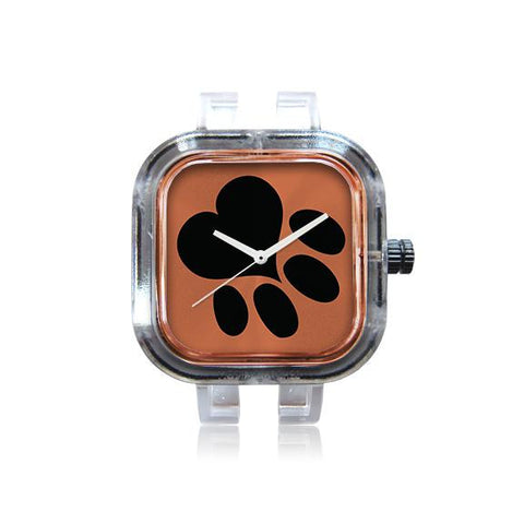 Paw Print Bronze Watch